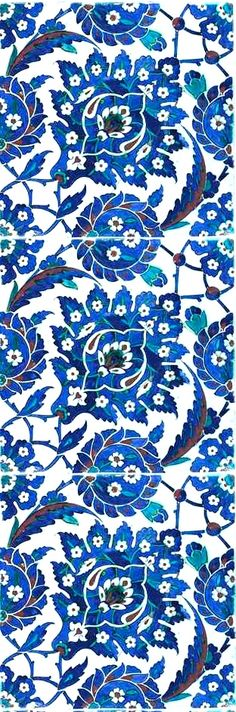iznik pottery tile
