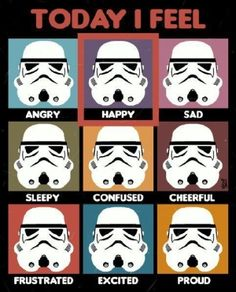 Only kind of humor that hits right at the soul....Star Wars humor