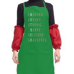 Creative Kitchen BBQ Picnic Apron Personalized Print BAPRN mother