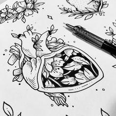 """3,934 Likes, 28 Comments - Fer Solley (@sollefe) on Instagram: """"El mundo necesita más amor y más tatuajes ✨❤ Este corazoncito está disponible para que se lo lleven…"""""""