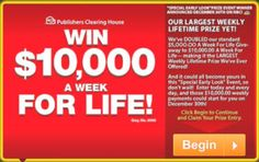 House of Sweepstakes: PCH Sweepstakes Win It All