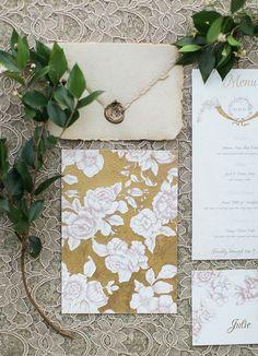 Romantic Antique French Wedding   Rustic Folk Weddings