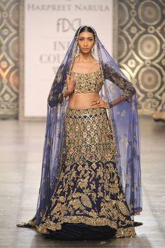 Rimple & Harpreet Narula at India Couture Week 2016 Indian Bridal Outfits, Pakistani Outfits, Indian Dresses, Churidar, Kurti, Anarkali, Lengha Choli, Silk Lehenga, Women's Ethnic Fashion