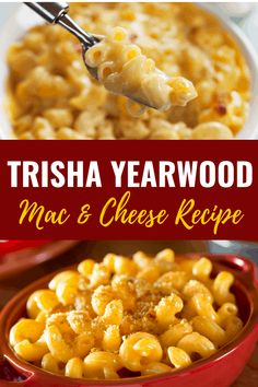 Trisha Yearwood& crockpot mac and cheese is the ultimate comfort food! - Crockpot Mac And Cheese Recipe - Boxed Mac And Cheese, Best Mac And Cheese, Creamy Mac And Cheese, Ultimate Mac And Cheese, Crockpot Mac N Cheese Recipe, Macaroni Cheese Recipes, Baked Macaroni, Box Mac And Cheese Recipe, Macaroni And Cheese Recipe Pioneer Woman