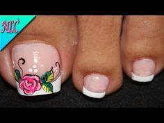 Cute Toe Nails, Cute Toes, Gel Nails, Pedicure Nail Art, Toe Nail Art, Manicure, Cute Pedicures, Pretty Nail Art, Nail Art Designs