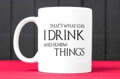 Game of Thrones Mug Coffee Mug Tea Mug Funny by CreativeMugStudio