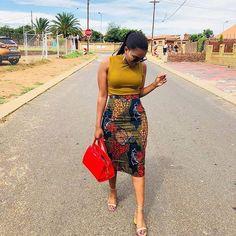 Latest Lovely Ankara Skirt Styles For Hard Working Women In 2019 - Emmanuel'. from Diyanu - Ankara Dresses, Shirts & African Fashion Ankara, African Fashion Designers, African Inspired Fashion, Africa Fashion, African Fashion Style, African Print Skirt, African Print Dresses, African Dress, African Prints