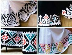 Cushion Embroidery, Basic Embroidery Stitches, Hand Work Embroidery, Creative Embroidery, Machine Embroidery, Felt Applique, Applique Dress, Applique Quilts, Applique Designs