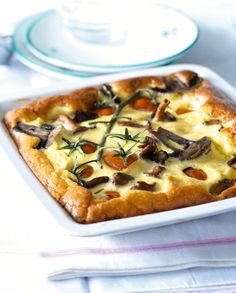 Recette minceur : quiche tofu champignon - Gourmand : la recette de cuisine, facile et rapide, par Vie Pratique