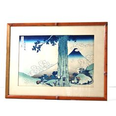 Japanese Woodblock Print I, $128, now featured on Fab.