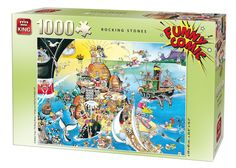 1000 Piece Funny Comic Cartoon Capers Jigsaw Puzzle - ROCKING STONES 05221 FOR SALE • £5.99 • See Photos! Money Back Guarantee. Toggle navigation About Us Visit our Shop Promotions Auctions Search Promotions Auctions About Us Search Top Categories Beach Goods Boats & Kayaks Camping, Tools, Gizmos Children's Clothing Face Paint Fancy 291751297121