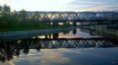 Pasarela Monumental sobre el Río Manzanares