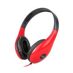 Stereo Music 3.5mm On-Ear Headphone DM-4700 (sort, rød, hvid, blå) – DKK kr. 64