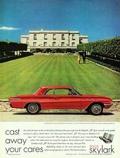 Buick Skylark 1961 Cast Away Your Cares - Mad Men Art: The 1891-1970 Vintage…