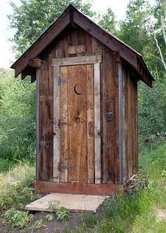 Yes, we had an outhouse. A one seater, but Uncle Ernie's was a two seater. He also had calendar pictures of pinup girls on the wall with their skirts blowing in the wind.