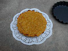 Coisas simples são a receita ...: Mini tarte de feijão e coco sem açúcar