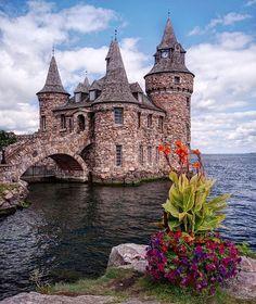 Замок Balintore построен в 1859 году. Шотландия