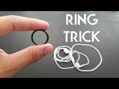 BEST RING AND HEADPHONE TRICK PigCake Tutorials - YouTube Magic Tricks Videos, Easy Magic Tricks, Ear Health, Cool Science Experiments, Card Tricks, Rings Cool, Get The Job, Headphones, Silver Rings