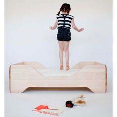cama infantil moderna madera - minimoi