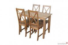 Nowość Krzesła tanie sosnowe modne producent nowy wzór