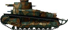 Type-89b Chi-Ro tank-Japan