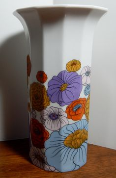 Vintage Rosenthal Studio-Line Vase by Tapio Wirkkala by OffbeatAvenue on Etsy
