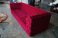 "Buy Capitone ""Carmen"" Sofa - Sofas - Seating - Furniture - Dering Hall"