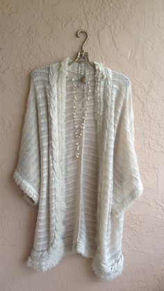 Hippie GYpsy Oversized Cotton bohemian cape sleeve