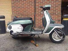 1966 Lambretta Li125 Special - SX200 Retro Scooter, Lambretta Scooter, Scooter Motorcycle, Scooters For Sale, Motor Scooters, Retro Roller, Italian Scooter, Honda Ruckus, Vespa Girl