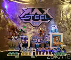 Max steel party