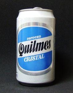 Lata de Quilmes Cristal
