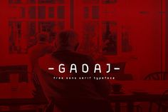 Gadaj – Free Font with extended license!
