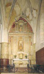 Nef latérale de l'église Saint-Martin - Fronsac