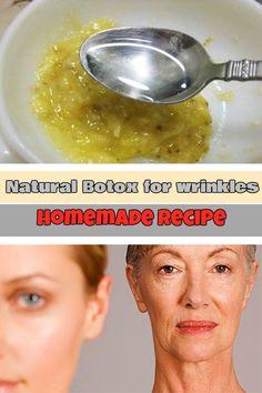 Natural Botox for wrinkles: Homemade recipe - WeLoveBeauty.info