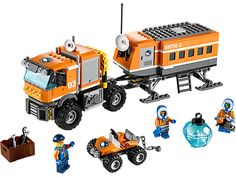 Investigate remote polar areas with the awesome LEGO® City Arctic Outpost!