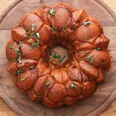 Cheesy Bacon Monkey Bread Recipe by Tasty