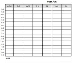 Weekly Schedule Printable Template - Customizable Weekly Planner Monthly Schedule Template, Weekly Schedule Planner, Weekly Planner Template, Schedule Printable, Printable Planner, Printables, Writing About Family, Psychology Books, Day Planners