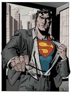"#Superman #Fan #Art. (Superman changes) By: Evan ""Doc Shaner"". (THE * 5 * STÅR * ÅWARD * OF: * AW YEAH, IT'S MAJOR ÅWESOMENESS!!!™)[THANK U 4 PINNING!!!<·><]<©>ÅÅÅ+"