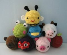 Amazon.com: Baby Toy Amigurumi Crochet Pattern Set eBook: Amy Gaines: Kindle Store