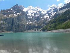 @myswitzerland_e Oeschinensee - the most beautiful mountain lake I have ever seen! pic.twitter.com/PLcwukCW