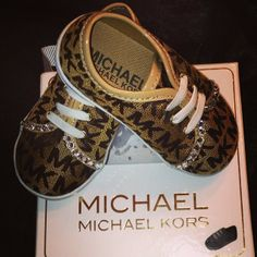MK baby shoes<3<3