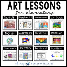 Art History - Whimsy Workshop Teaching You are in the right place about Art Education elementary Here we offer you the most beautiful pictures about the Art Ed Art History Timeline, Art History Lessons, History Of Wine, History Books, History Memes, History Major, History Facts, Black History, Arte Elemental