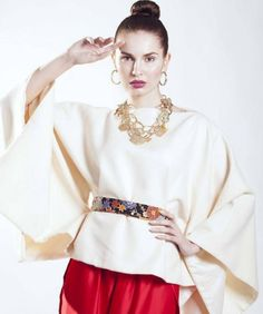 lshowroomcomunicacion@Regrann from @saraiglesiasfoto modelo Zuzana @modelsdivisionspain mkup @cheloescobarmup foto @saraiglesiasfoto en @cuboplato . Fotografia #editorial #zurdamagazine #modafemenina #shooting #fotografia #fotomoda #saraiglesiasfoto #cuboestudio #madrid #fotoshoot  Top by @nataliadlara  Necklace by @cloti_garcia  Trousers by @arquimedesllorens