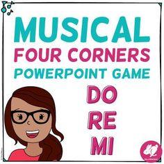 Musical Four Corners, Do-Re-Mi