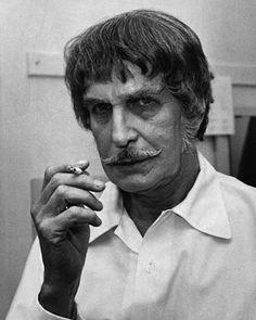 Vincent Price behind the scenes of The Abominable Dr. Phibes (1971)