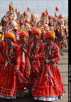 INDIA: Desert Festival - Jaisalmer