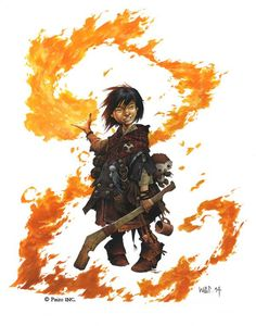 Gnome sorcerer mage fire club