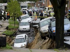 Baltimore sink hole