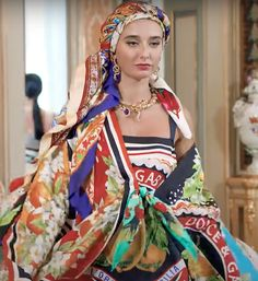 Dolce&Gabbana Fashion Show 2020 Fashion Show, Sari, Unique, Womens Fashion, Inspiration, Beauty, Saree, Biblical Inspiration, Women's Fashion