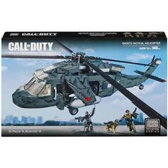 Mega Bloks Call Of Duty Ghost Tactical Helicopter
